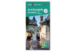 Loire valley cycling map